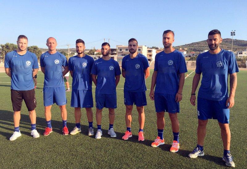 Εντάχθηκαν στις προπονήσεις και οι 6 νεοαποκτηθέντες ποδοσφαιριστές! Τάσος Παγώνης, Δημήτρης Ραπτάκης, Αλεξάντερ Μίλιτς, Όλιβερ Πέεφ, Νέστορας Γκέκας και Δημήτρης Πολυχρόνης